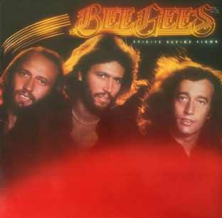 Bee Gees - Spirits Having Flown (LP) (VG-/VG-)